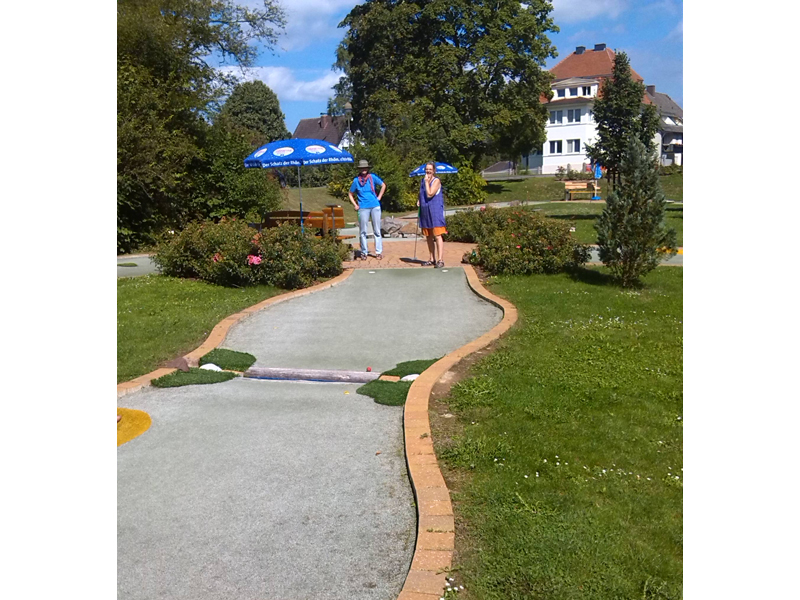 Minigolf in Bad Sooden-Allendorf